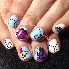 candynailbar Mr Men & Little Miss #nail #nails #nailart