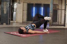 Anti-Cellulite-Workout:Single Leg Hip Lifts