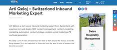 Arti-Qelaj – Switzerland Inbound Marketing Expert WRDE Coast TV - Press release screenshot Marketing Automation, Inbound Marketing, Email Marketing, Sephora App, Interesting Topics, Content Marketing Strategy, Press Release, What You Can Do