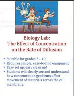 lab 6 diffusion How can diffusion be observed introduction: in this lab, you will observe the diffusion of a substance across a semipermeable membrane iodine is a known indicator for starch.