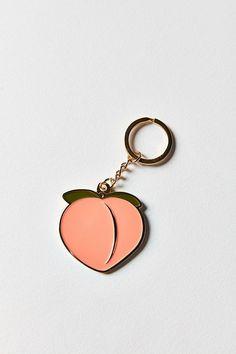 Slide View: 2: VERAMEAT Peach Keychain