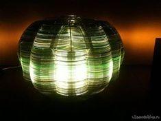 Светильник из ненужных CD-дисков