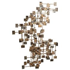 Marc Weinstein Sculpture   From a unique collection of antique and modern wall-mounted sculptures at http://www.1stdibs.com/furniture/wall-decorations/wall-mounted-sculptures/