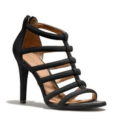 Coach lavania suede heels Worn lightly and in great condition Coach Shoes Heels Metallic High Heels, Metallic Sandals, Strappy Sandals Heels, Suede Heels, Shoes Heels, Strap Sandals, It Goes On, Designer Heels, Coach Shoes