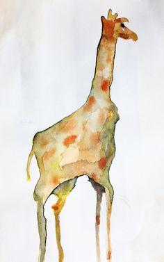Sweet little giraffe print.