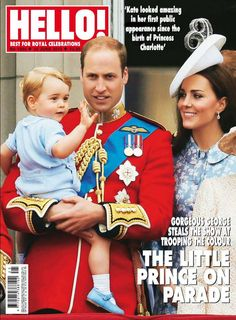 Issue 1384: Gorgeous George steals the show at Trooping the Colour