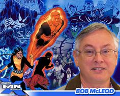 Meet comicbook artist Bob McLeod at #FANX16! Best known for co-creating the New Mutants! #utah