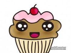 a cute cupcake