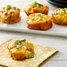 Green Bean Casserole Minis Recipe - Key Ingredient