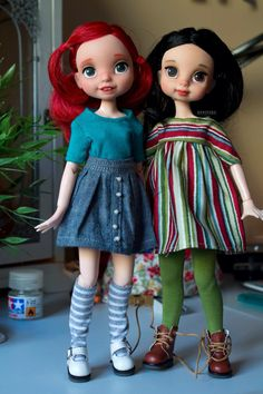 OOAK Disney Animator Dolls
