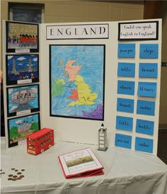 Geography Fair idea.  Perhaps our co-op would enjoy putting one of these together?