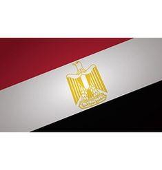 Egypt flag on white background Royalty Free Vector Image Free Vector Images, Vector Free, Egypt Flag, Web Design, Graphic Design, Flag Vector, Royalty, Facebook, Illustration