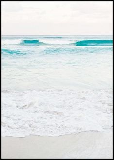 Pastel Beach Poster - Nature & Botanical - Posterstore.ca Morning Sun, Beach Posters, Love Posters, Brigitte Bardot, Hogwarts, Surfboard, Poster Wall, Poster Prints, Picture Wall