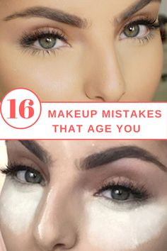 Freshen up your gorgeous face by taking these 16 makeup mistakes out of your beauty routine.