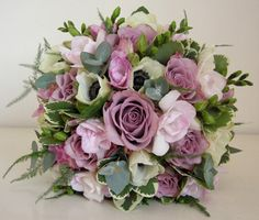 bouquet with memory lane rose