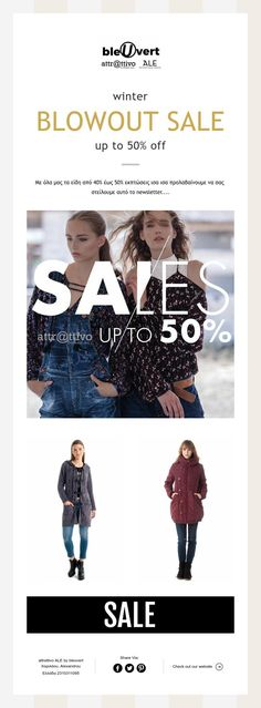 winter  BLOWOUT SALE  up to 50% off