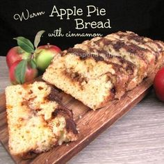 Warm Apple Pie Bread with Cinnamon! Recipe - ZipList