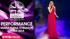 Live: Maria Elena Kyriakou (Greece) - One Last Breath @ London Eurovisio...Please vote her she is gorgeous!!!