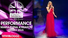 Live: Maria Elena Kyriakou (Greece) - One Last Breath @ London Eurovisio...Please vote her she is gorgeous!!!