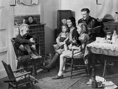Mr and Mrs John Green and their family are the first to occupy a prefabricated hut house in Glengall Road, Poplar in London, on October 24 1944. It is one of 10,000 of these hut homes that are to be built in the capital'. The Green family's previous house had been bombed; they had no proper kitchen facilities and had been sleeping in an Anderson shelter for five months.