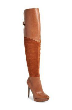 Jessica Simpson 'Valentia' Over the Knee Platform Boot (Women) | Nordstrom