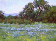 Bob Rohm Spring Blue - Southwest Gallery: Not Just Southwest Art.
