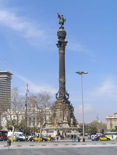 Christopher Columbus Statue, Barcelona, Spain. Been to the top! What an amazing view.