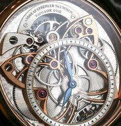 "Andreas Strehler Papillon d'Or Watch Hands-On - by Ariel Adams - on aBlogtoWatch.com ""The most famous aesthetic element of Andreas Strehler watches is the butterfly (papillon in French) motif. It's sort of funny given that Andreas Strehler makes men's watches, and - at least in America and other parts of the West - butterflies are usually associated with more feminine items (and not men's watches). Lower-back tattoos and such aside, in the context of the horological world..."""