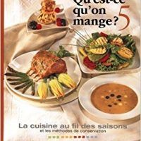 QU'EST-CE QU'ON MANGE T.05 (ORANGE) by COLLECTIF, PDF, 2920908383, topcookbox.com