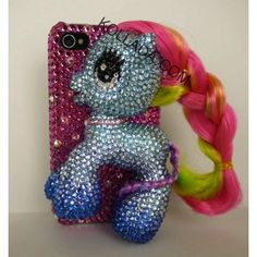 My Little Pony iPhone case.  This cracks me up!
