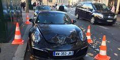 Une Porsche mal garée explosée par des démineurs à Paris ! (PHOTO)