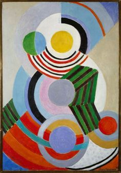 Exhibition: 'The EY Exhibition: Sonia Delaunay' at Tate Modern, London Sonia Delaunay, Robert Delaunay, Blaise Cendrars, Tate Modern London, London Art, Avant Garde Artists, Grey Art, Inspirational Artwork, French Artists