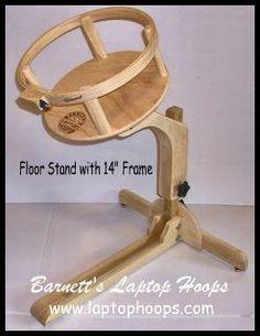 Barnett's Laptop Hoops - Floor Stand Base Only! | Quilting ... : quilt hoop floor stand - Adamdwight.com