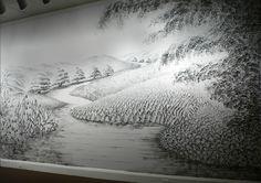 Mural a duas mãos by Judith Braun.