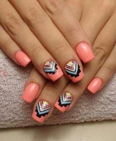 Southwest nail design