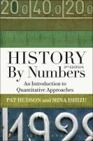 History by numbers / Hudson, P. - LB8 6E Hud