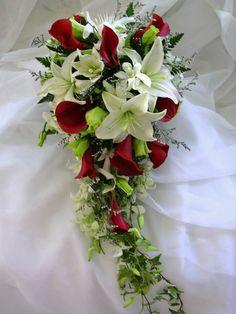 Cascading Bridal Bouquets   Cascading Bouquet