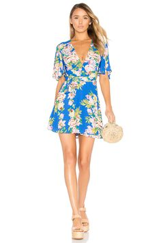 Privacy Please x REVOLVE Brisco Dress en Bleu | REVOLVE
