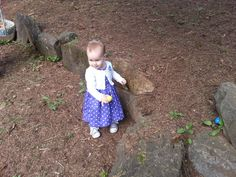 Easter 2014 brought our beautiful little grand daughter to our house to hunt eggs.