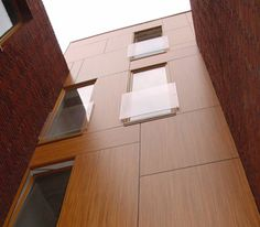 Exterior Building Panels, Abet Laminati Exterior Wall Cladding, Interior And Exterior, Interior Design, Facade Architecture, Wall Treatments, Building, House, Houses, Facades