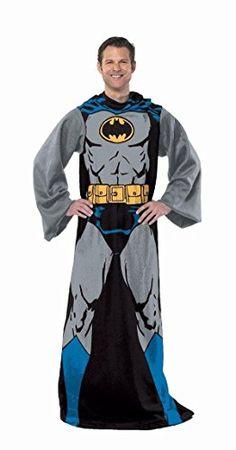 DC Comic Batman, Batman in Black 48-Inch-by-71-Inch Adult Comfy Throw with Sleeves by The Northwest Company Northwest http://www.amazon.com/dp/B007RHGRVU/ref=cm_sw_r_pi_dp_M81Wtb0BHRQMB8J7
