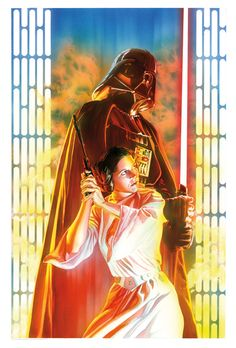 Star Wars April cover by Alex Ross. Ross needs to do way more Star Wars stuff, all there is to it. Alex Ross, Star Wars Comics, Star Wars Day, Star Trek, Dark Vader, Starwars, Star Wars Personajes, Princesa Leia, Non Plus Ultra