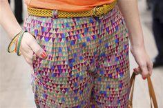 Belt € 16,95, DIY pants and bracelets € 7,95. By Veritas.