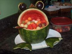 Fruit salad froggie, looks managable!