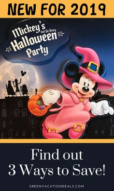 Tickets for the 2019 Mickeys Not So Scary Halloween Party are now on sale. We tell you how to get cheap tickets: which dates are the cheapest, how to get discounts...and how to earn money online so your tickets are free! #NotSoScary #travelhacks #MNSSHP #Halloween2019 #Halloween #DisneyWorld #familytraveltips #familyvacationtips #DisneyHalloween #MickeysNotSoScaryHalloweenParty #DisneyWorld2019 #Disneyplanning #DisneyWorldplanning #WaltDisneyWorldplanning #familytravelplanning #familytrip #WDW