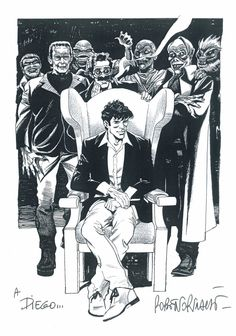 Dylan Dog by Roberto Rinaldi