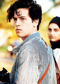 Cole Sprouse by Peter Lindbergh for Vogue.