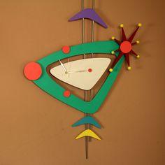 Funky Jetsons wall clock. Retro chic!