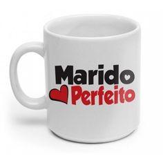 Caneca de Porcelana para o Marido Perfeito 53d57e01bfcee
