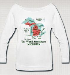 Now Available! 3/4 Sleeve Wideneck Shirts.  http://downwithdetroit.spreadshirt.com/women-s-wideneck-3-4-sleeve-shirt-D2P33T884